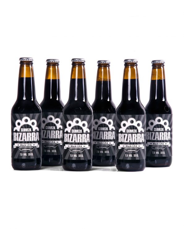 Pack 12 Bizarra Black IPA